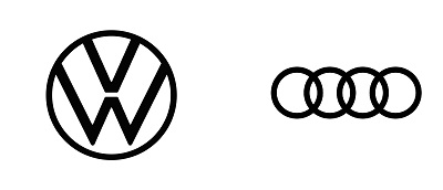 VW and Audi logo