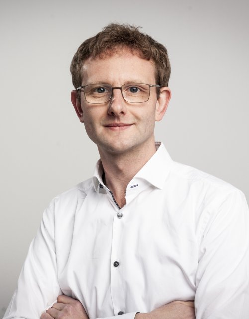 This is a photo of Prof. Maximilian Müller, ESMT Berlin.