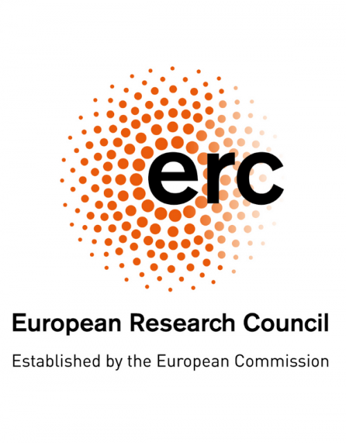 This is a logo of the European Research Council.