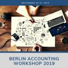 Berlin Accounting Workshop 2019 Imagery